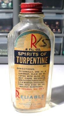 Turpentine Liniment Use