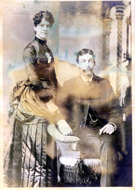 Ancestors from my Walker/Ruf side of the family.  Probably taken in Ohio.  I don't know much about this side of the family.