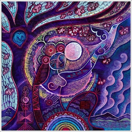 Inanna (Art by Mara Berendt Friedman) http://www.newmoonvisions.com/