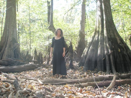 Standing with the cypress
