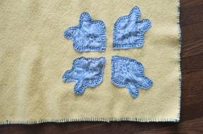 Old bandana stitch work
