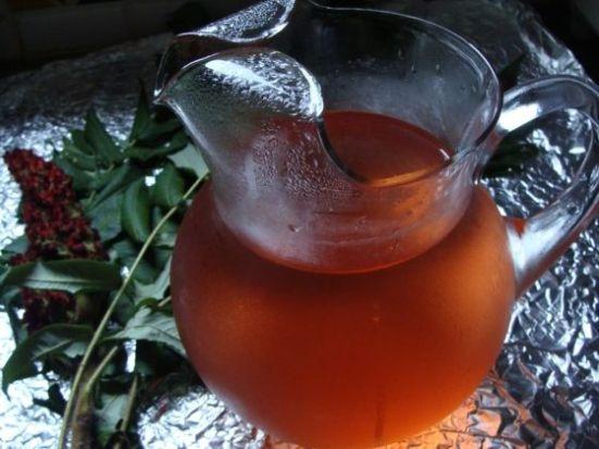 sun tea sumac