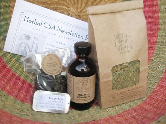 Herbal CSA Share