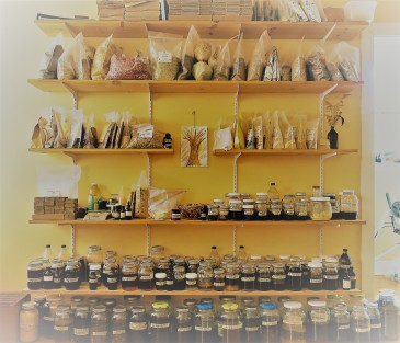 My old apothecary shelves in Mississippi...