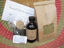 One of the seasonal, herbal CSA offerings from the apothecary... The CSA ran for about 4 years, starting in March 2013 <3