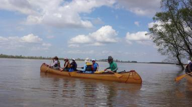 A canoe trip down the mighty Mississippi River with John Ruskey and the Quapaw Canoe Company